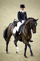 Hoet Anouck (BEL) - Wild Diamond<br /> FEI World Cup Dressage Final for Young Riders<br /> Frankfurt 2009<br /> Photo© Hippo Foto - Leanjo de Koster