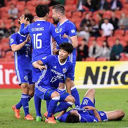 BRISBANE, AUSTRALIA - MAY 10:  during the Asian Champions League Group Stage match between the Brisbane Roar and Ulsan Hyundai at Suncorp Stadium on May 10, 2017 in Brisbane, Australia. (Photo by Patrick Kearney/Brisbane Roar)