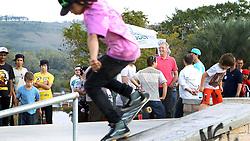 José Fortunati durante visita a pista de skate da Rubem Berta. FOTO: Jefferson Bernardes/Preview.com