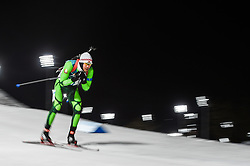 February 11, 2018 - Pyeongchang, Gangwon, South Korea - Sergey Bocharnikov of Belarus  at Mens 10 kilometre sprint Biathlon at olympics at Alpensia biathlon stadium, Pyeongchang, South Korea on February 11, 2018. (Credit Image: © Ulrik Pedersen/NurPhoto via ZUMA Press)