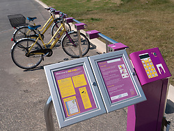 Hire-a-Bike cycle hire system at Blackpool.