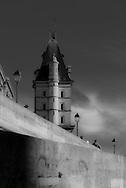 France. Paris. 1st district. quai des orfevres  . Seine river quays