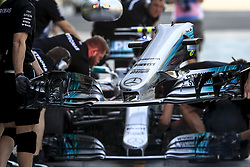 November 24, 2017 - Abu Dhabi, United Arab Emirates - Motorsports: FIA Formula One World Championship 2017, Grand Prix of Abu Dhabi, .front wing Mercedes AMG Petronas F1 Team  (Credit Image: © Hoch Zwei via ZUMA Wire)