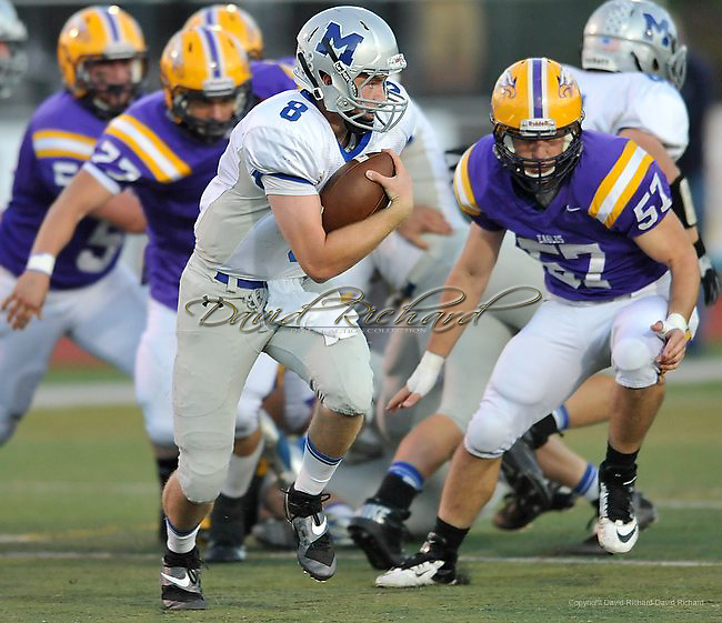 Midview High School at Avon High School varsity football on September 27, 2013. Images © David Richard and may not be copied, posted, published or printed without permission.