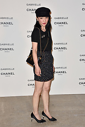"""Zhou Xun attending the party for the new Chanel perfume """"Gabrielle"""", at the Palais de Tokyo in Paris, France, on July 4, 2017. Photo by Alban Wyters/ABACAPRESS.COM"""