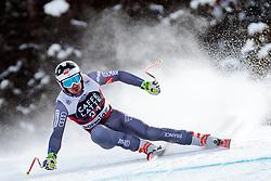 28.12.2017, Stelvio, Bormio, ITA, FIS Weltcup, Ski Alpin, Abfahrt, Herren, im Bild Maxence Muzaton (FRA) // Maxence Muzaton of France in action during mens Downhill of the FIS Ski Alpine Worldcup at the Stelvio course, Bormio, Italy on 2017/12/28. EXPA Pictures © 2012, PhotoCredit: EXPA/ Johann Groder