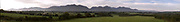 A panorama view of the McGillycuddy Reeks as viewed from Fossa, Killarney<br /> Picture by Don MacMonagle