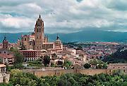 Spanje, Segovia, 28-5-2007Uitzicht op de stad.Foto: Flip Franssen/Hollandse Hoogte