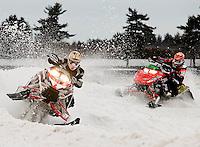 Editorial work Rockingham Park Snowmobile Races February 13, 2010