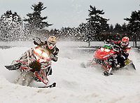 Editorial work Rockingham Park Snowmobile Races February 13, 2010