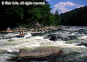 PA landscapes Kayaks on Youghiogheny River, Ohiopyle State Park, Fayette County, Laurel Highlands, PA