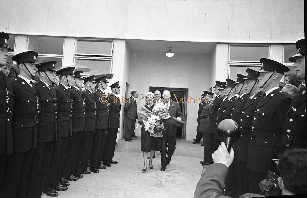 General Dwight D. Eisenhower and his wife arrive in Dublin. Mr. and Mrs. Eisenhower spent a few days in Ireland as part of a European tour.. 21.08.1962.<br /> old black and white photos of Dwight D. Eisenhower in Dublin, Ireland.<br /> old ireland photographs of Dwight D. Eisenhower in Dublin, Ireland.<br /> old photo of Dwight D. Eisenhower in Dublin, Ireland.<br /> old photographs of Dwight D. Eisenhower in Dublin, Ireland.<br /> old photos of Dwight D. Eisenhower in Dublin, Ireland.<br /> old picture of Dwight D. Eisenhower in Dublin, Ireland.<br /> old pictures of Dwight D. Eisenhower in Dublin, Ireland.<br /> Old Pix of Dwight D. Eisenhower in Dublin, Ireland.<br /> Old Pixs of Dwight D. Eisenhower in Dublin, Ireland.<br /> photo  of Dwight D. Eisenhower in Dublin, Ireland.<br /> photo history of Dwight D. Eisenhower in Dublin, Ireland.<br /> photographs of Dwight D. Eisenhower in Dublin, Ireland.<br /> photos of Dwight D. Eisenhower in Dublin, Ireland.<br /> picture of Dwight D. Eisenhower in Dublin, Ireland.<br /> pictures of Dwight D. Eisenhower in Dublin, Ireland.<br /> Pix of Dwight D. Eisenhower in Dublin, Ireland.<br /> Pixs of Dwight D. Eisenhower in Dublin, Ireland.<br /> vintage photos of Dwight D. Eisenhower in Dublin, Ireland.<br /> vintage pictures of Dwight D. Eisenhower in Dublin, Ireland.<br /> Pic of Dwight D. Eisenhower in Dublin, Ireland. <br /> Iconic Image of Dwight D. Eisenhower in Dublin, Ireland.<br /> View of Dwight D. Eisenhower in Dublin, Ireland.