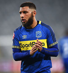 Cape Town-180804 Cape Town City winger Riyaad Norodien  in a game against  Supersport iat Cape Town Stadium.photograph:Phando Jikelo/African News Agency/ANAr