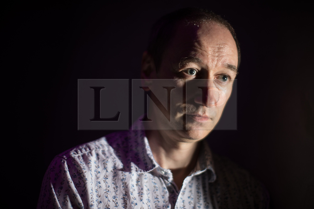 © Licensed to London News Pictures . 22/08/2017 . Manchester , UK . Former undercover drug policeman NEIL WOODS speaks at an event at Texture , a club in Manchester's Northern Quarter , about his experiences infiltrating drugs gangs , which have lead him to go public and campaign for drug law reform in his new role as Chairman of LEAP UK ( Law Enforcement Against Prohibition ) . Photo credit : Joel Goodman/LNP