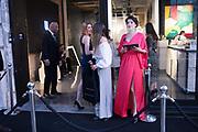CHINA JORDAN, ABBI GILTINAN, FLAME TEALE,, 21st Century Women at Unit London Mayfair<br /> Hanover Square, , 3 October 2018