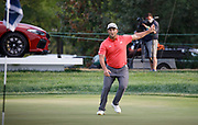 Winner is Jon Rahm over Dustin Johnson at the BMW Championship Golf Tournament at Olympia Fields GC on Sunday Aug. 29, 2020<br /> WGAESF/Charles Cherney