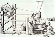 CHICAGO, ART INSTITUTE Chinese silk weaving manufacturing