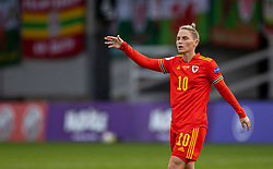 NEWPORT, WALES - Thursday, October 22, 2020: Wales' Jessica Fishlock during the UEFA Women's Euro 2022 England Qualifying Round Group C match between Wales Women and Faroe Islands Women at Rodney Parade. Wales won 4-0. (Pic by David Rawcliffe/Propaganda)