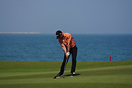 Paul Waring (ENG) on the 9th during Round 3 of the Oman Open 2020 at the Al Mouj Golf Club, Muscat, Oman . 29/02/2020<br /> Picture: Golffile | Thos Caffrey<br /> <br /> <br /> All photo usage must carry mandatory copyright credit (© Golffile | Thos Caffrey)