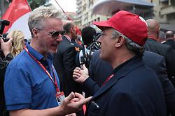 May 26, 2019 - Monte Carlo, Monaco - xa9; Photo4 / LaPresse.26/05/2019 Monte Carlo, Monaco.Sport .Grand Prix Formula One Monaco 2019.In the pic: Eddie Irvine and Jean Alesi  (Credit Image: © Photo4/Lapresse via ZUMA Press)