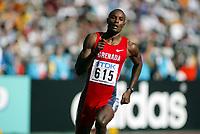 Friidrett, 23. august 2003, VM Paris,( World Championschip in Athletics),  Alleyne Francique på 400 meter