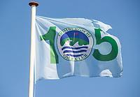 DOMBURG - Jubileumvlag  105jaar  van de Domburgsche Golf Club in Zeeland (Walcheren) .  COPYRIGHT KOEN SUYK