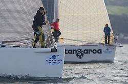 Largs Regatta Festival 2018<br /> <br /> Day 1 - RC35 Class start , Bow<br /> <br /> Images: Marc Turner