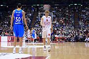 DESCRIZIONE : Milano Eurolega Euroleague 2013-14 EA7 Emporio Armani Milano Real Madrid <br /> GIOCATORE : Melli Nicolo<br /> CATEGORIA : Delusione <br /> SQUADRA : EA7 Emporio Armani Milano<br /> EVENTO : Eurolega Euroleague 2013-2014 GARA : EA7 Emporio Armani Milano Real Madrid <br /> DATA : 05/12/2013 <br /> SPORT : Pallacanestro <br /> AUTORE : Agenzia Ciamillo-Castoria/I.Mancini<br /> Galleria : Eurolega Euroleague 2013-2014 <br /> Fotonotizia : Milano Eurolega Euroleague 2013-14 EA7 Emporio Armani Milano Real Madrid Predefinita
