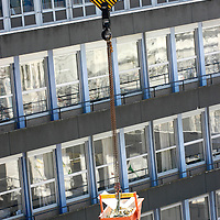 Working and safety conditions at a construction site