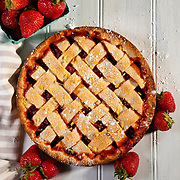 Strawberry Lemon Tart. Nathan Lambrecht/Journal Communications