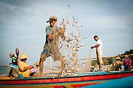 Fisherman in Jimbaran Bali Indonesia