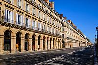 France, Paris (75), musée du Louvre durant le confinement du Covid 19 // France, Paris, Louvre museuml during the lockdown of Covid 19