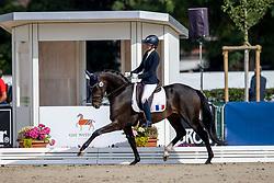 Chalvignac Charlotte, FRA, Parodie Ter Dolen<br /> WK Young Horses Verden 2021<br /> © Hippo Foto - Dirk Caremans<br /> 25/08/2021