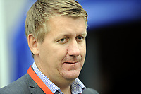 Fotball<br /> Kvalifisering til UEFA Europa League<br /> Vålerenga v PAOK 0:2<br /> 28.07.2011<br /> Foto: Morten Olsen, Digitalsport<br /> <br /> Pål Breen - administrerende direktør VIF