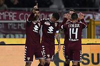 Torino 02-11-2016 Stadio Olimpico Football serie A 2016/2017 Torino - Cagliari foto Image Sport/Insidefoto<br /> nella foto: esultanza gol Marco Benassi Goal celebration