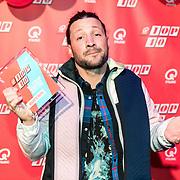 NLD/Amsterdam/20190111 - Top 40 launch Party, Kraantje Pappie wint de award best scorende artiest 2018