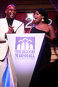 1 November 2010- New York, New York- l to r: Anthony Anderson and Neicey Nash at The 23rd Annual Thurgood Marshall College Fund Awards Dinner held at The Sheraton NY Hotel & Towers on November 1, 2010 in New York City. Photo Credit: Terrence Jennings