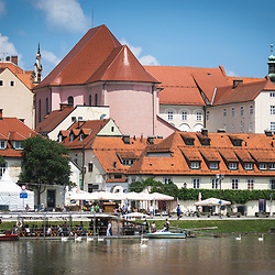 20190702: SLO, City and buildings - Rafting along the river Drava in Maribor