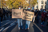 PARIS - FRANCE - DEMONSTRATION AGAINST POLICE VIOLENCE AND ARTICLE 24