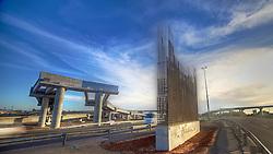 Obras na Avenida Severo Dullius, em Porto Alegre, que fica próxima ao aeroporto cruzando a Avenida Presidente Castelo Branco. FOTO: Jefferson Bernardes/Preview.com