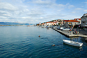 Harbour, island of Ciovo, near Trogir, Croatia