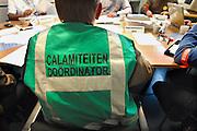 Nederland, Nijmegen, 28-4-2009Rampenoefening voor hulpdiensten in de regio Nijmegen.Het crisisteam doet de coordinatieFoto: Flip Franssen/Hollandse Hoogte