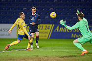 Oli Shaw of Ross County during the Scottish Premiership match between Ross County FC and St Johnstone FC at the Global Energy Stadium, Dingwall, Scotland on 2 January 2021