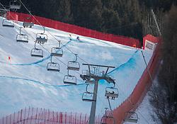 28.12.2018, Stelvio, Bormio, ITA, FIS Weltcup Ski Alpin, Abfahrt, Herren, im Bild übersicht auf die Piste Stelvio // Overview during the men's FIS ski alpine world cup at the Stelvio in Bormio, Italy on 2018/12/28. EXPA Pictures © 2018, PhotoCredit: EXPA/ Johann Groder
