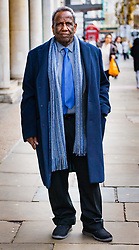 """Mahamoud Ahmed, 79, leaves his employment tribunal at Victory House in London after defendant Abdullah Ali Al-Ansari, a diplomat who is currently employed as the Qatari Embassy's head of its medical centre, is alleged to have subjected Mahamoud Ahmed, 79, his former driver and the organisation's night security officer, to mental and physical abuse over a number of years, treating him like a """"personal slave"""" who was """"on call 24 hours a day, 7 days a week"""". London, March 14 2019."""