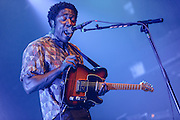 Photos of the British indie rock band Bloc Party performing at Terminal 5, NYC. August 7, 2012. Copyright © 2012 Matthew Eisman. All Rights Reserved.