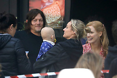 Diane Kruger and Norman Reedus On Set With Their Daughter - 9 July 2019