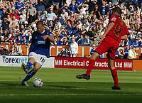 Photo: Kevin Poolman.<br />Leicester City v Colchester United. Coca Cola Championship. 23/09/2006. Leicester's Matt Fryatt has a shot on goal.