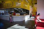 .Inside the new Burritos Crisostomo in El Paso Texas on Sunday morning, Oct. 11, 2009..