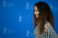 Actress Oulaya Amamra at the photocall for the film The Salt of Tears (Le Sel des Larmes) at the 70th Berlinale International Film Festival, on Saturday 22nd February 2020, Hotel Grand Hyatt, Berlin, Germany. Photo credit: Doreen Kennedy